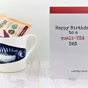 Tea Lovers Birthday Card for dad