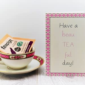 card and gift for tealovers