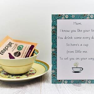 tea card for tea lovers