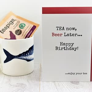 Tea & Beer Lovers Birthday Card