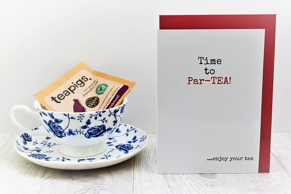 Tea Lovers Birthday Card