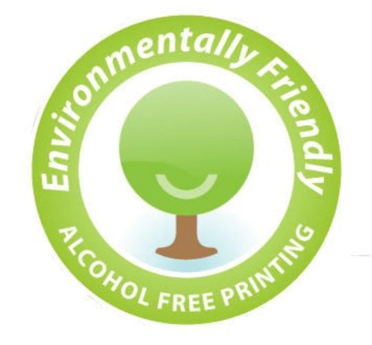 alcohol free printing