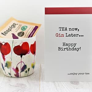 Tea & Gin Lovers Birthday Card