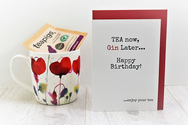 Tea & Gin Lovers Birthday Card