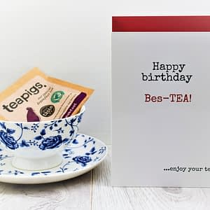 Tea Lovers Birthday Card