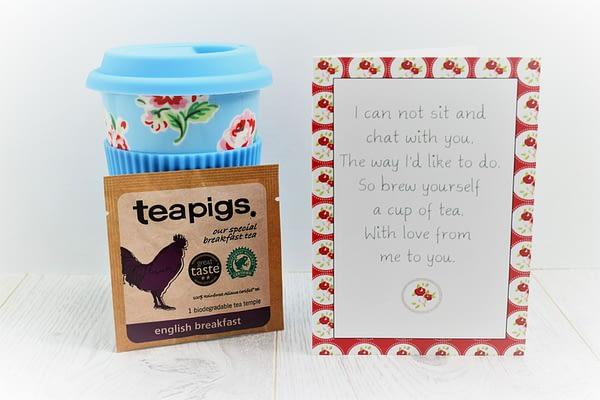 senteaments tea card
