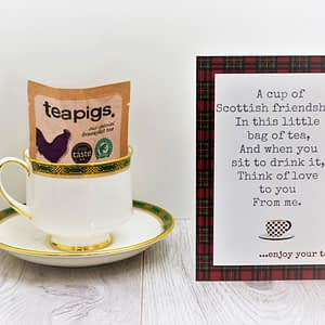 Scottish Tea Card