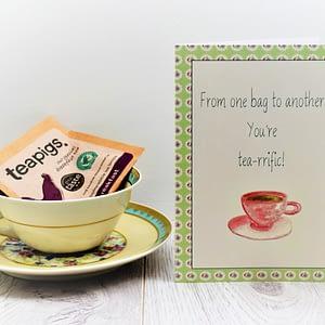 tea lovers card