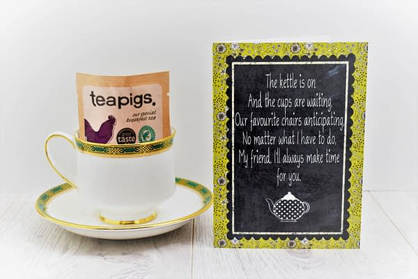 tea lover card
